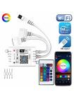 Wi-Fi контроллер с пультом для RGB ленты 2 порта OG-LDL27