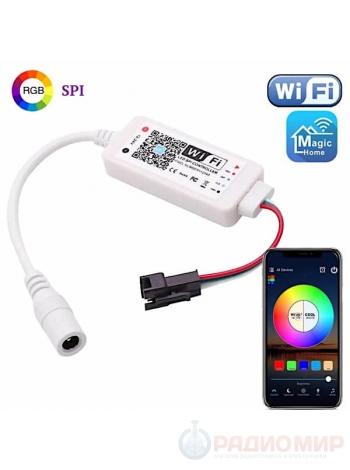Светодиодный Wi-Fi контроллер для RGB SPI ленты OG-LDL29