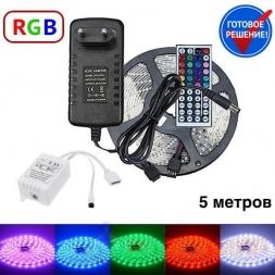 Комплект светодиодной RGB ленты  5 метров OG-LDL02-5050