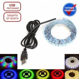 Светодиодная USB лента 1 метр OG-LDL09-5050