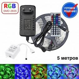 Комплект светодиодной RGB ленты  5 метров OG-LDL14-2835