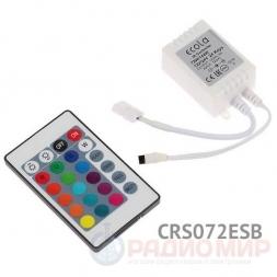 Контроллер с ИК-пультом CRS072ESB Ecola