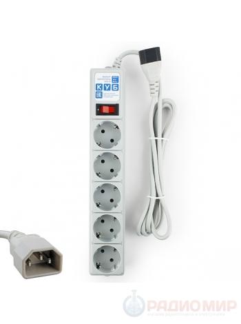 Сетевой электрический фильтр 1.9 метра PowerCube SPG-B-6Ext для UPS