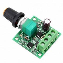 Регулятор скорости двигателя ШИМ 2-12В 24Вт