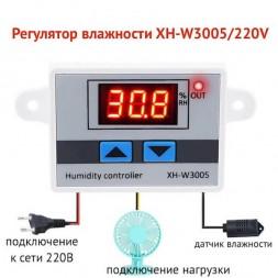 Регулятор влажности XH-W3005/220V