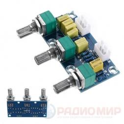 Регулятор тембра и громкости XH-M802