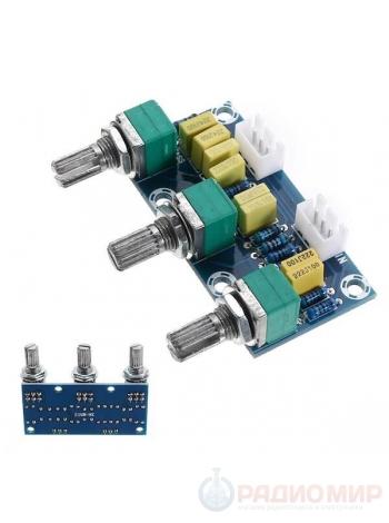 Пассивный регулятор тембра и громкости XH-M802