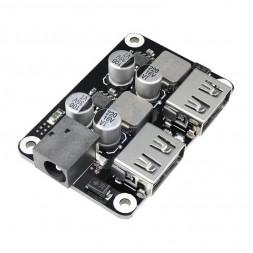 USB модуль зарядки с поддержкой QC3.0 QC2.0 (2 канала)