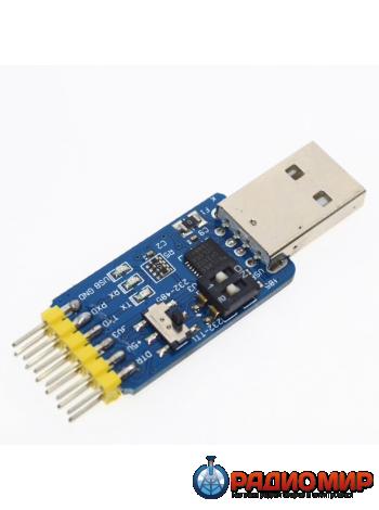 Преобразователь интерфейсов USB в RS232 в RS485