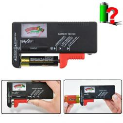Тестер для проверки батареек BT2