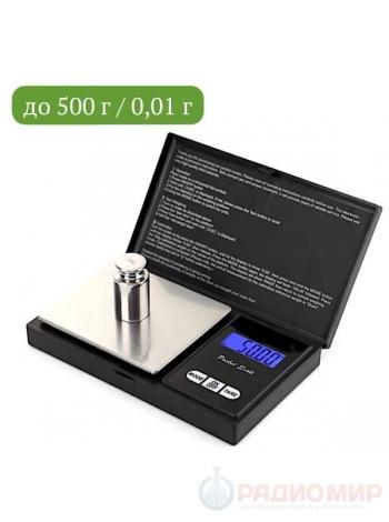 Весы электронные ювелирные Орбита OT-HOW06 (до 500г)
