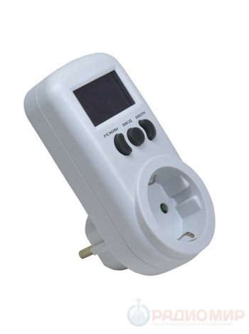 Счетчик потребляемой электроэнергии (ваттметр) ROBITON PM-1