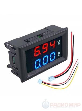 Индикатор тока и напряжения DCN-VC288 Орбита (DC 0-100В 0-10A)