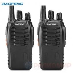 Рация Baofeng BF-888s UHF 2штуки
