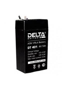 4В аккумулятор 1Ач Delta DT 401