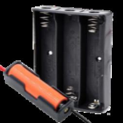Отсеки и держатели для батареек, аккумуляторов
