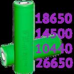 Литий-ионные Li-ion аккумуляторы